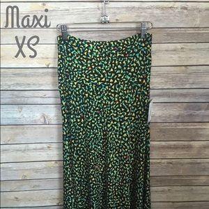 LuLaRoe XS Maxi Skirt